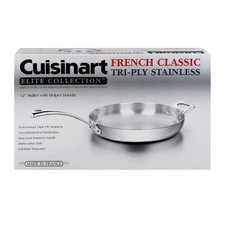 Cuisinart French Classic Tri-Ply Stainless 12