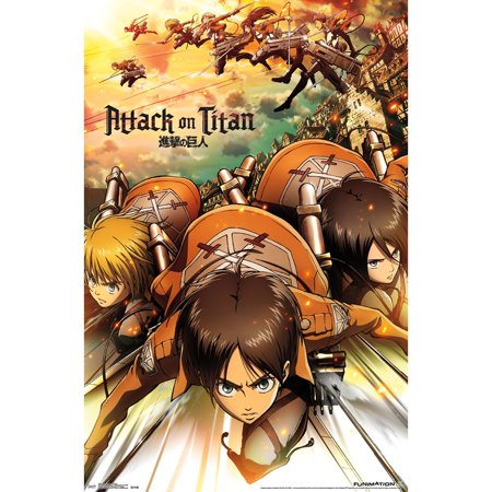 Attack on Titan Poster 22 - Attack On Titan Halloween Art