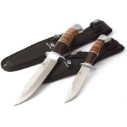 pleasant cool knives. Mossy Oak 2 Pack Leather All Knives and Tools  Walmart com