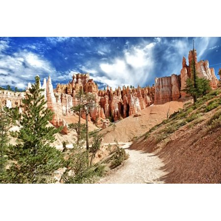 Bryce Canyon Amphitheater (Bryce Amphitheater - Utah - Bryce Canyon National Park - United States Print Wall Art By Philippe Hugonnard)