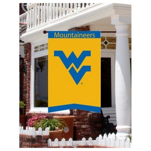 West Virginia Mountaineers Outdoor Applique House Flag