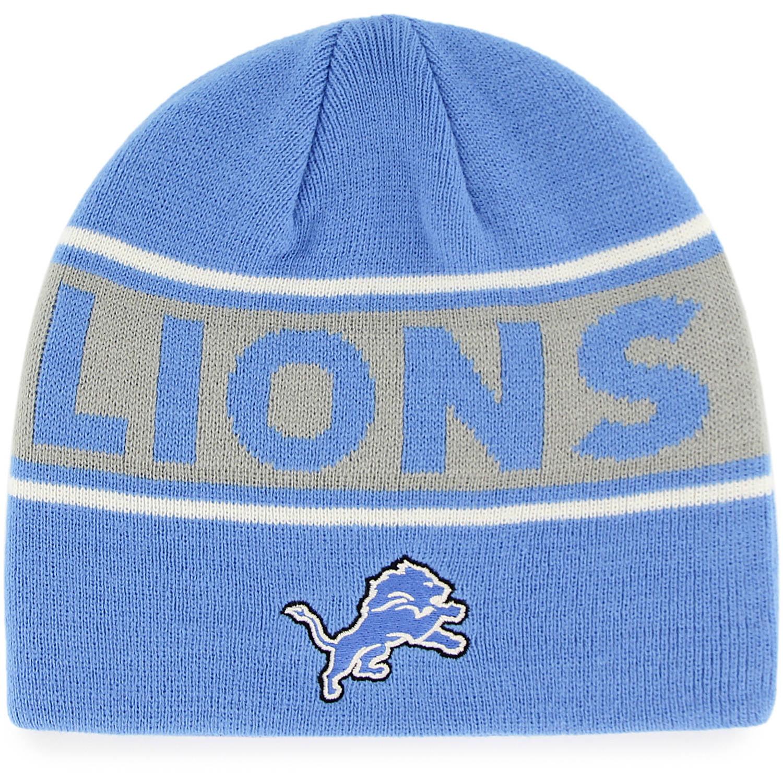 NFL Detroit Lions Bonneville Knit Beanie by Fan Favorite
