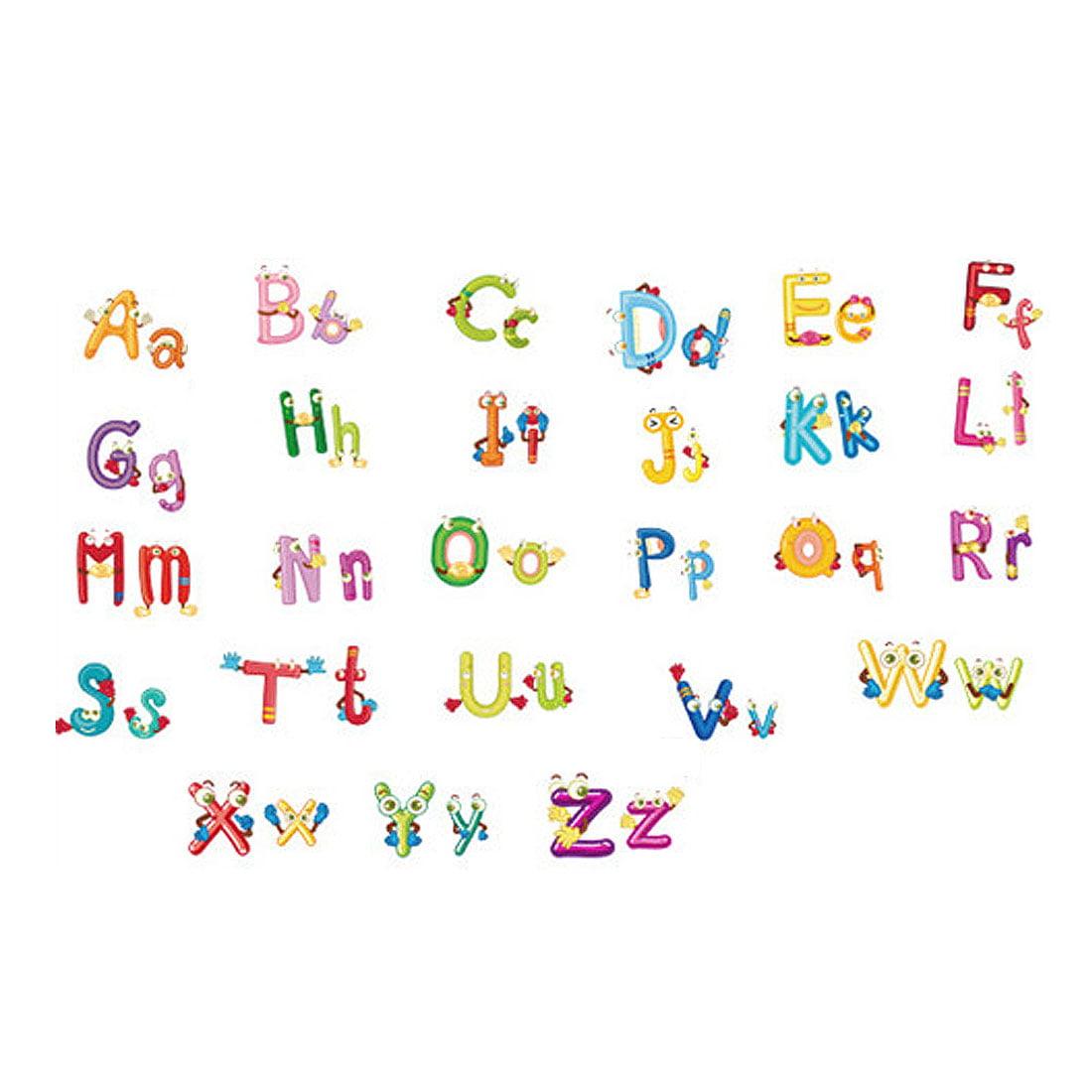 Nursery 26 Alphabet Educational Wall Sticker Room Decal Wallpaper 60 x 45cm