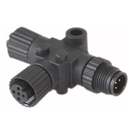 Fusion CAB000581 T-Connector for NMEA 2000 Network for Stereo and Remote Control