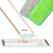 """Best Hardwood Floor Mops - 19.5"""" Pure Care Microfiber Mop with Telescopic Handle Review"""
