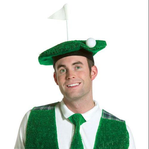 Lightweight Hole-In-One Golf Beret Adult Halloween Accessory