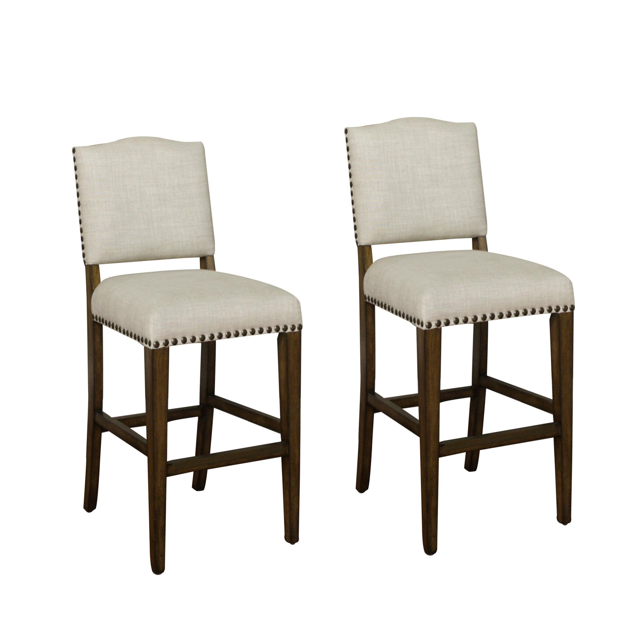 WorthingtonTransitional Bar Stool-Quantity:Set of 2