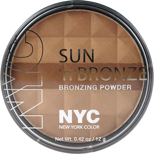 NYC New York Color Sun 'n' Bronze Bronzing Powder, Fire Island Tan