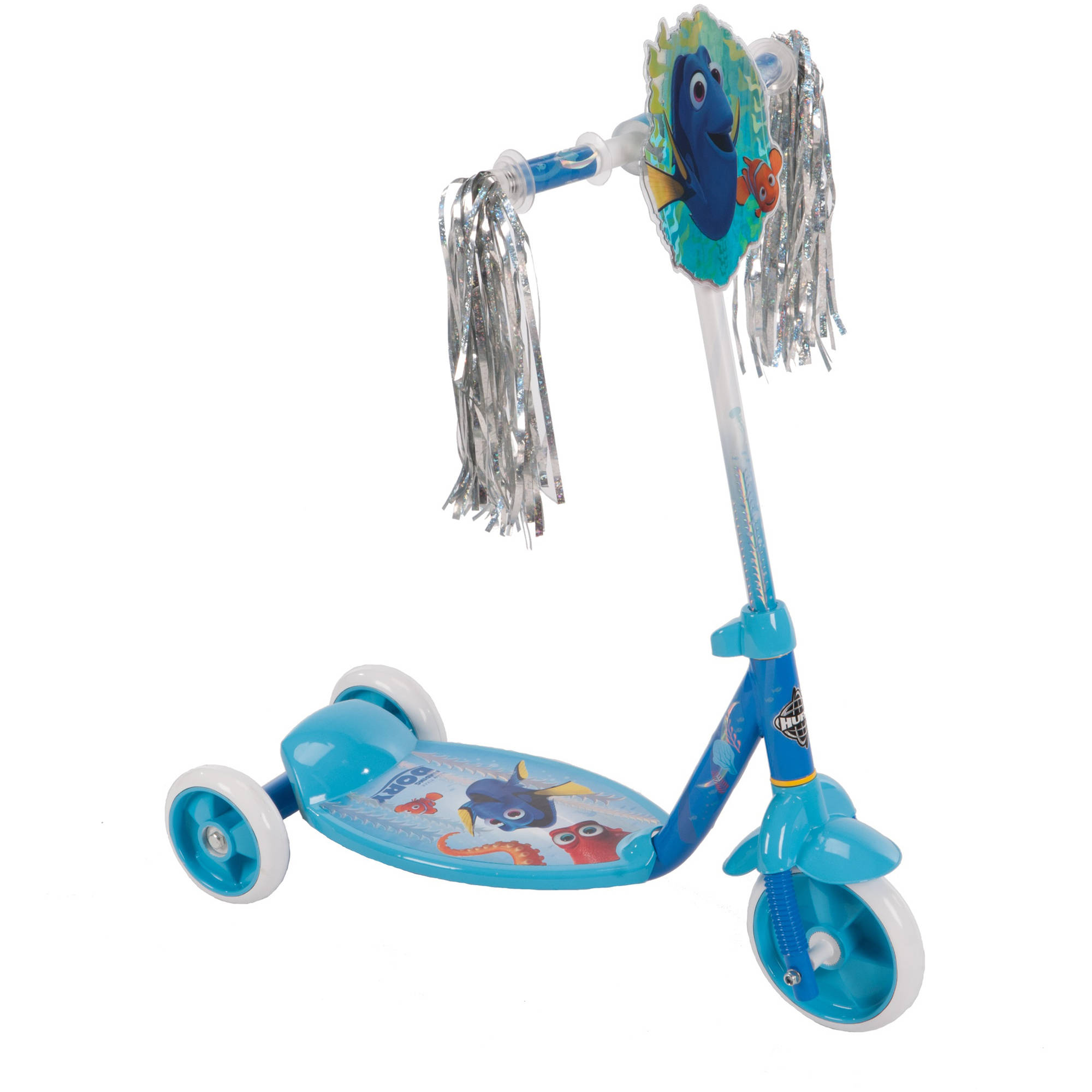Huffy Girls' Disney Finding Dory 3-Wheel Preschool Scooter