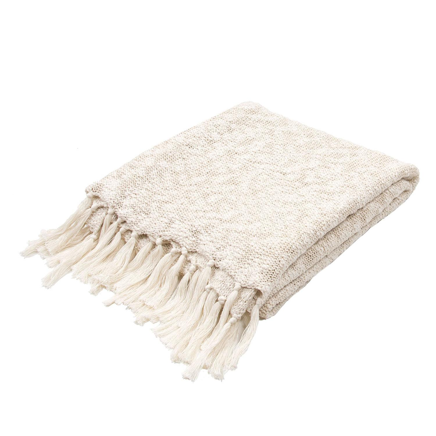 soft cream beige plush cotton woven fringed throw blanket  x  walmartcom. soft cream beige plush cotton woven fringed throw blanket  x
