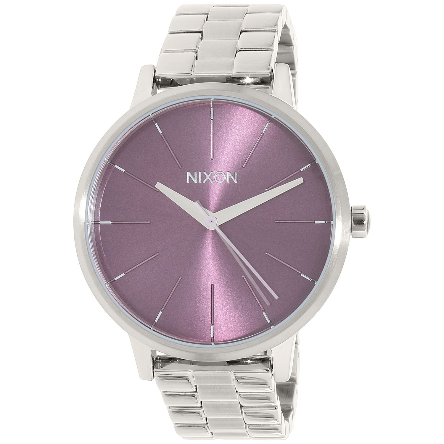 Nixon Women's Kensington A0992157 Silver Stainless-Steel Quartz Fashion Watch