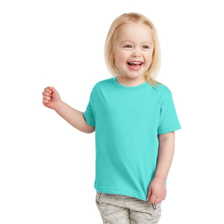 Toddler Fine Jersey Ribbed Collar -