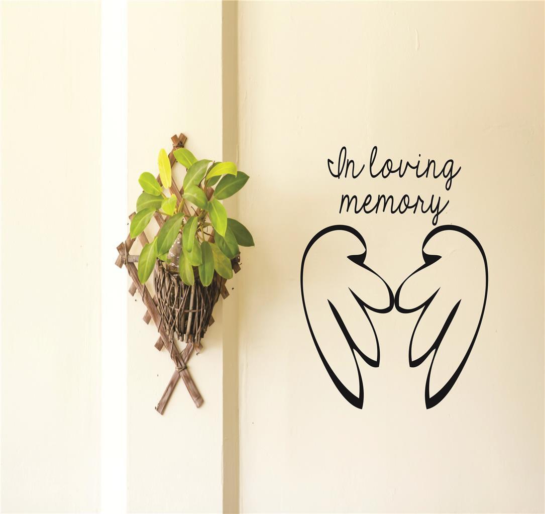 In Loving Memory Newborn Baby Memorial Quote Peel Stick Sticker