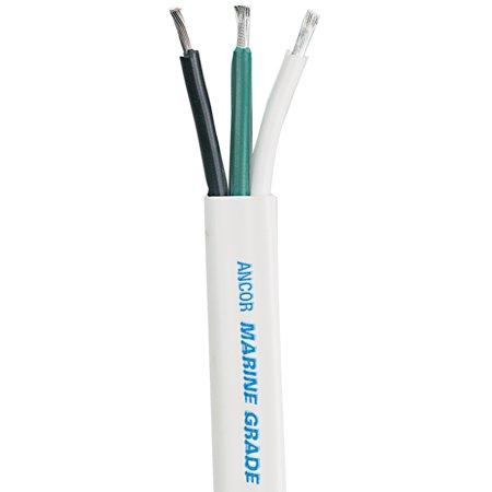 Ancor White Triplex Cable - 8/3 AWG - Flat - 100' - image 1 de 1