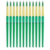 Royal Brush Big Kids Choice Round Paint Brush, Size 8, Pack of 12