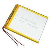 Tablet PC Polymer Rechargeable Battery 3.7V 2800 mAh Li-ion For GPS IPAQ 357095. Universal Replacement Battery
