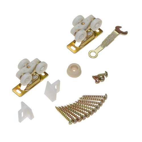 Johnson Hardware 111 Series Pocket Door Hardware Set for 1 Door 11311125