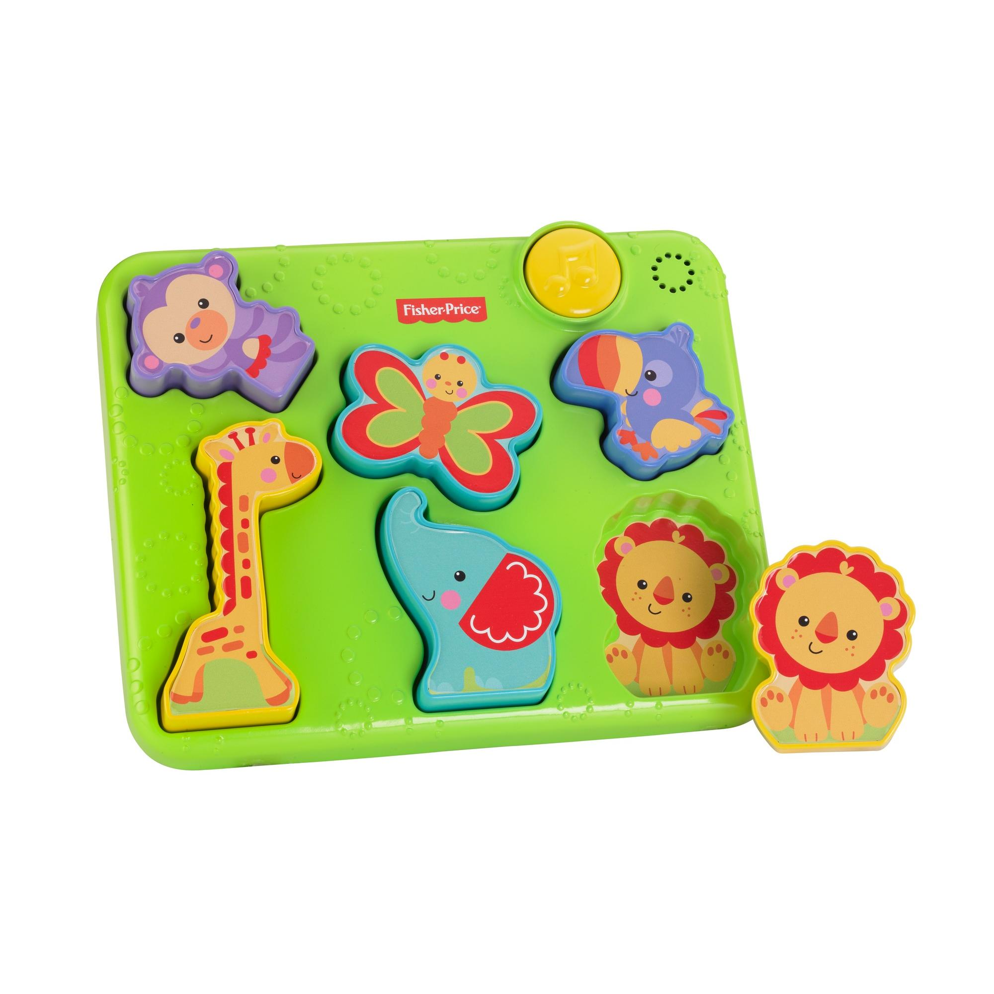 Fisher-Price Silly Sounds Animal Puzzle with Bright Colors & Music
