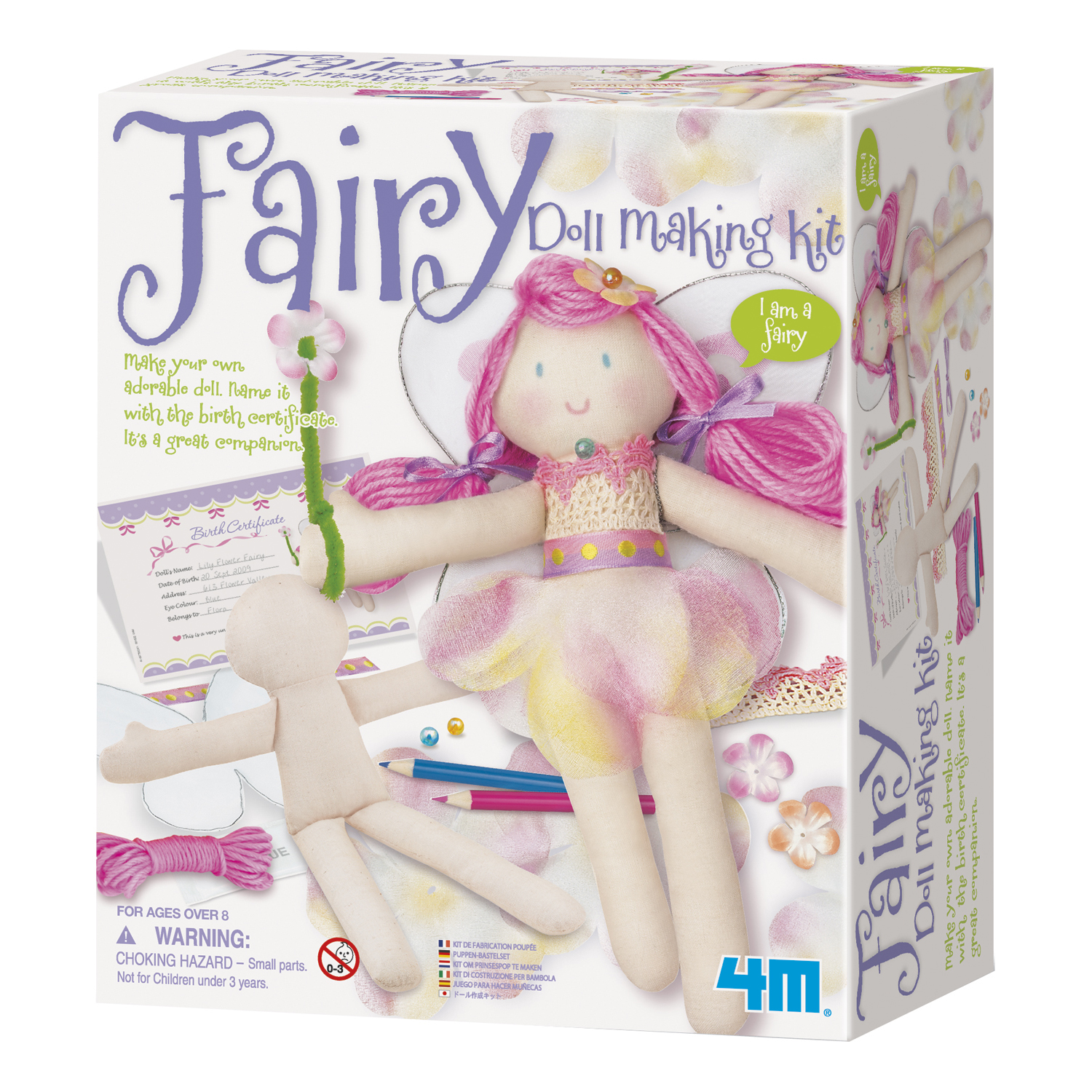 4M Fairy Doll Making Kit by Toysmith