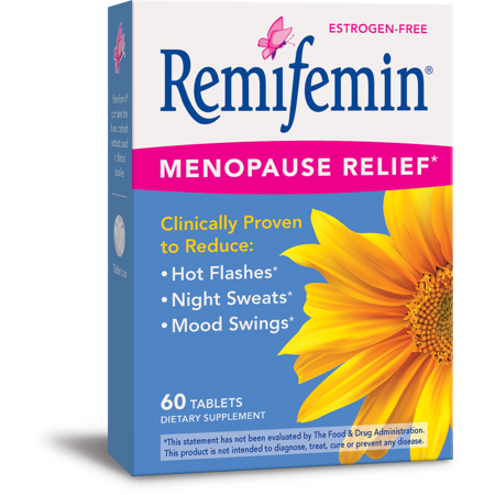 - Remifemin Menopause Relief Tablets, 60 Ct