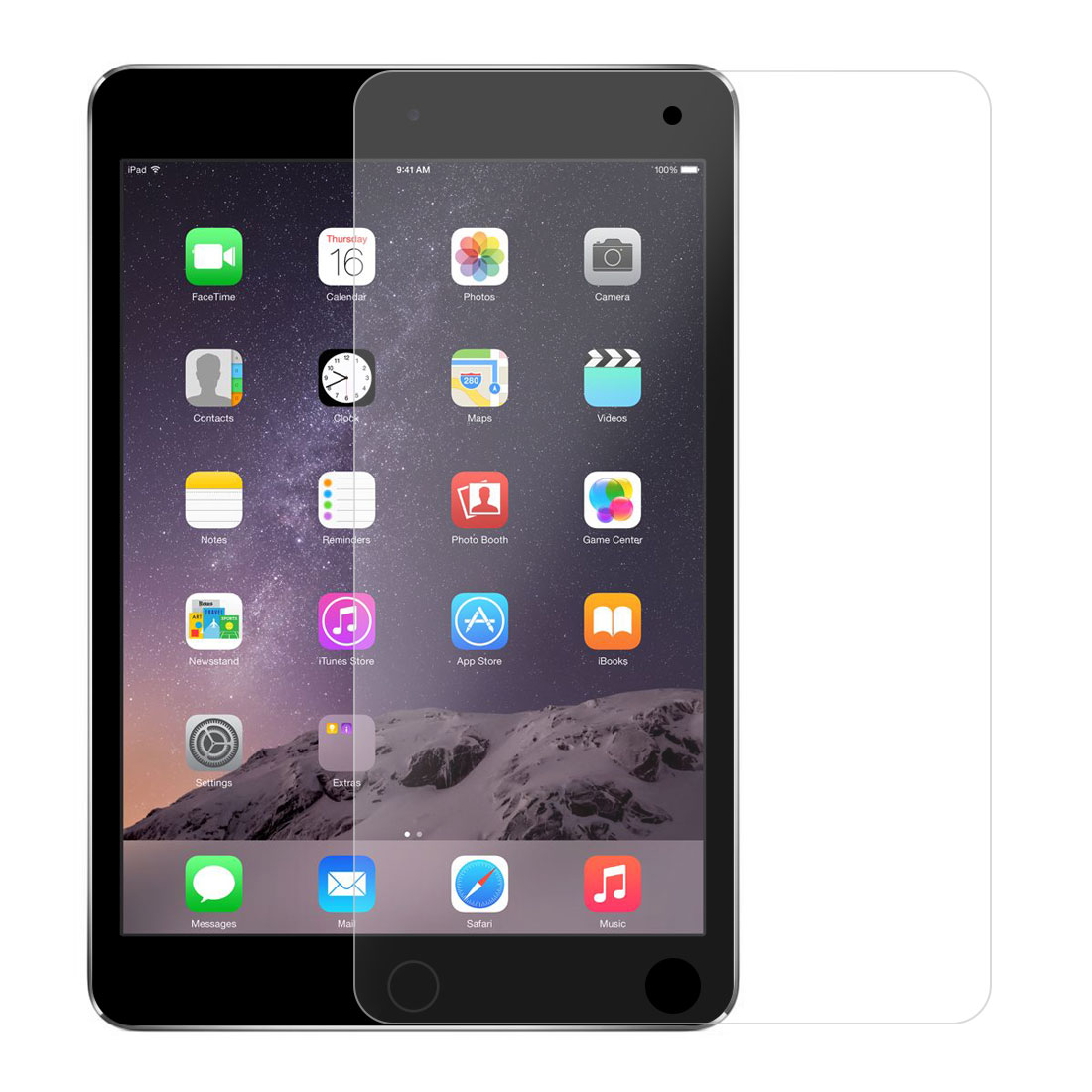 Anti Glare Scratch Dustproof High Clarity Screen Protector 2pcs for iPad mini 4