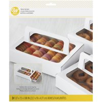 Wilton Disposable Treat Box with Handle, 3-Count