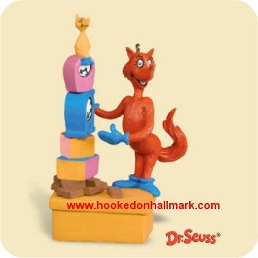 Hallmark Ornament 2006 Dr Seuss #8 - Fox in Socks