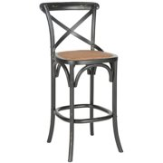 Safavieh 30.7-inch Franklin Hickory Oak Bar Stool by Overstock