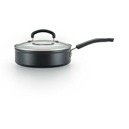 T-Fal Titanium Advanced Nonstick Thermo-Spot Heat Indicator Dishwasher Safe Cookware Jumbo Cooker, 5-Quart, (Thermo Spot)