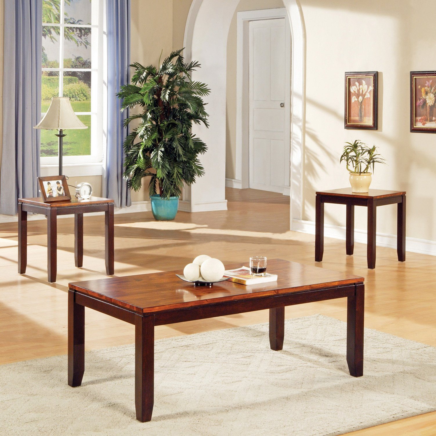 Steve Silver Abaco Coffee Table and End Table Set by Steve Silver Co