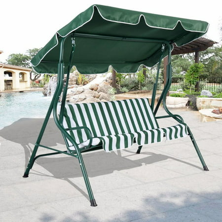 66*45inch Outdoor Swing Chair Top Cover Canopy Replacement For Porch