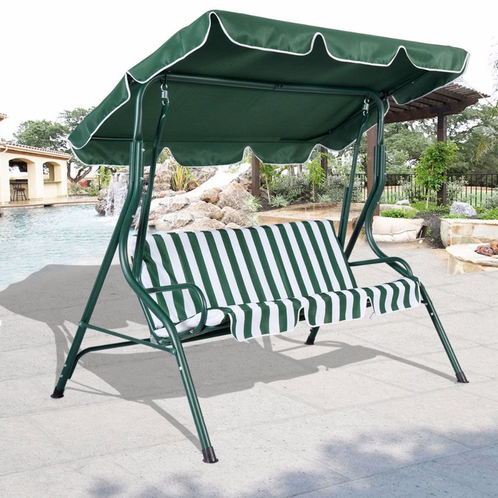 66*45inch Outdoor Swing Chair Top Cover Canopy Replacement For Porch Patio
