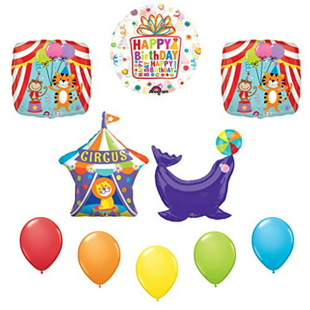 Circus Seal Birthday Party Supplies Decoration Balloon Kit (Circus Birthday Party Supplies)