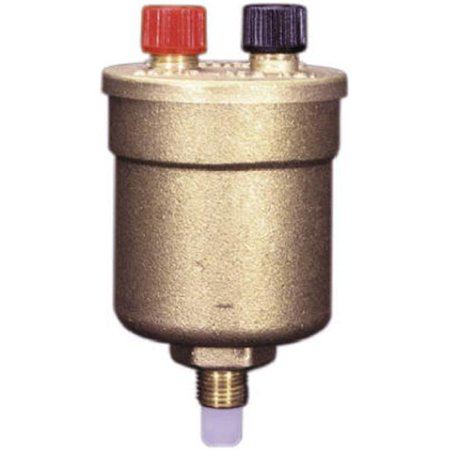 - Automatic Boiler Air Vent Valve, 1/8-In. Male Pipe Thread