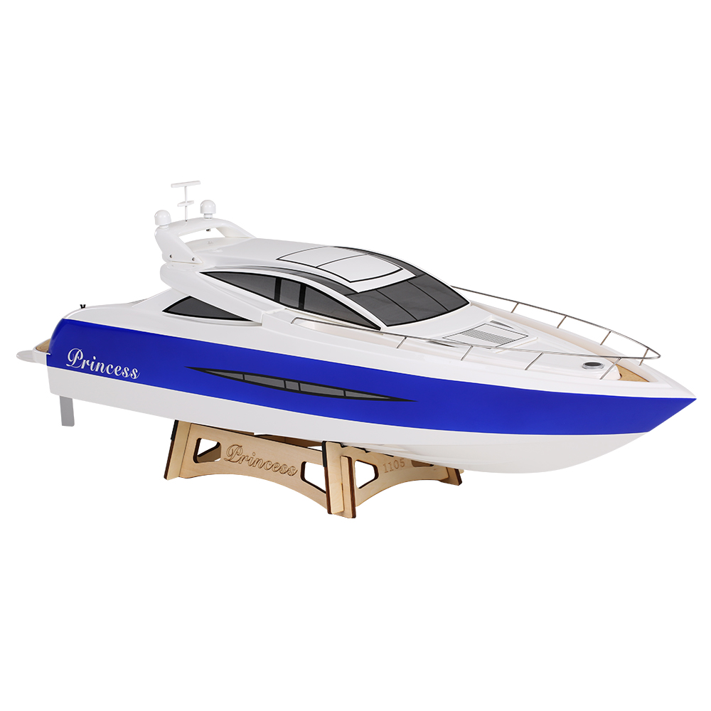 TFL Hobby 1105 Princess 2.4G Brushless Electric Water Cooling Speedboat Fibre Glass RC Boat by