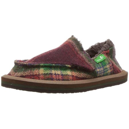 1662341275c Sanuk - Sanuk Kids  Vagabond Plaid Chill Shearling Slipper - Walmart.com