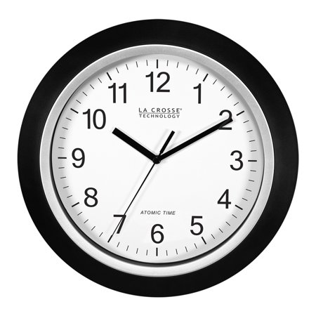 Orange 12 Inch Wall Clock - Better Homes & Gardens W85961 12 Inch Analog Atomic Black Wall Clock