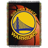 Golden State Warriors The Northwest Company 48'' x 60'' Photo Real Woven Tapestry Throw - No Size