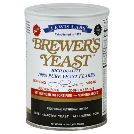 Dry Brewers Yeast (Lewis Laboratories Lewis Labs  Brewer's Yeast, 12.35)