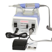 MAKARTT Electric Nail Drill Machine  Powerful 30000RPM 35W Manicure Pedicure File with Foot Pedal Acrylic Bits Set