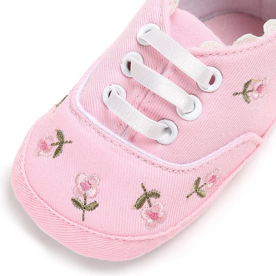 747fe786ddc006 Outtop - Outtop Newborn Infant Baby Girls Floral Crib Shoes Soft ...