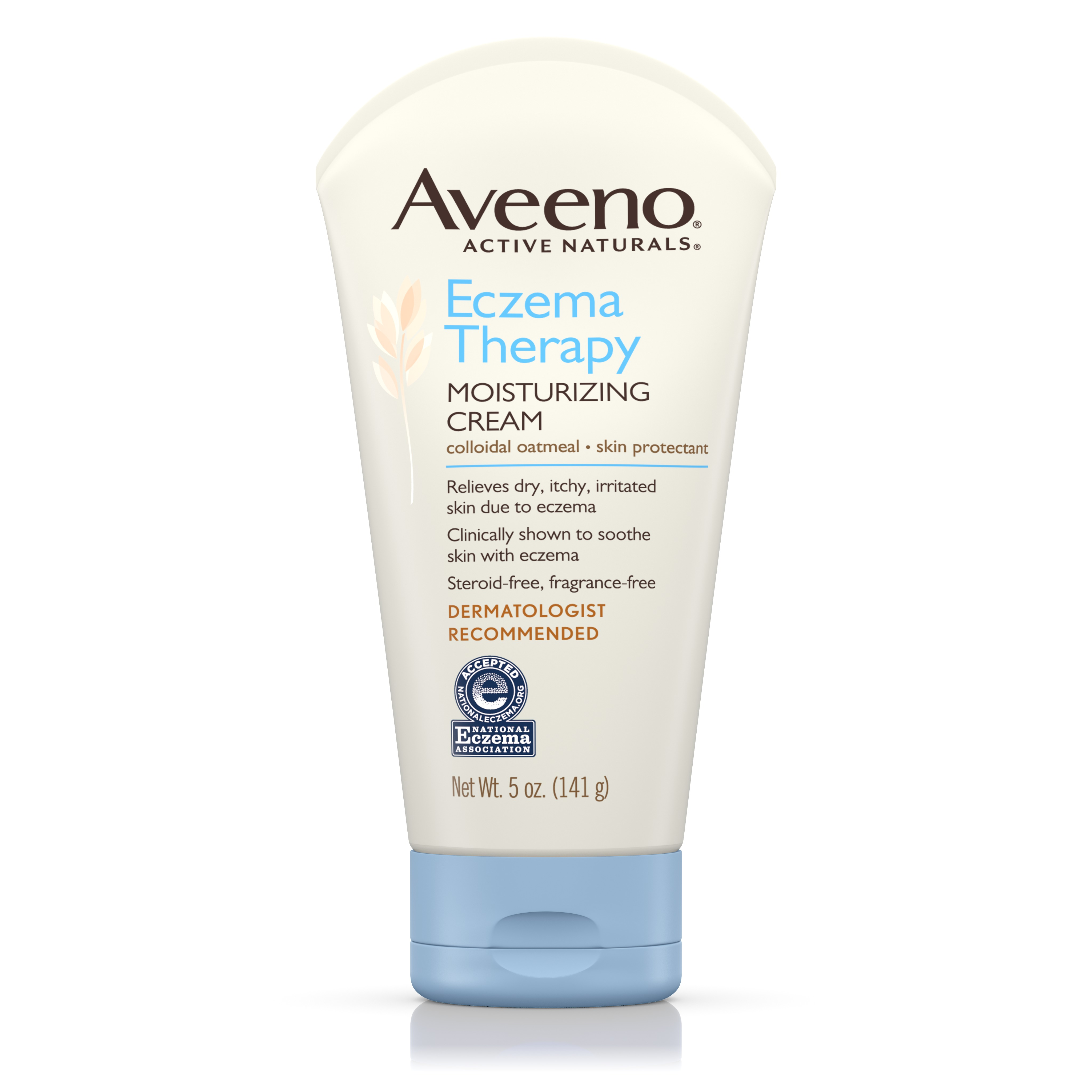 Aveeno Eczema Therapy Moisturizing Cream Relieves Dry Itchy Skin, 5 Oz - Walmart.com