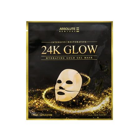 Absolute 24K Glow Gold Gel Mask (3 Paquets) - image 1 de 1