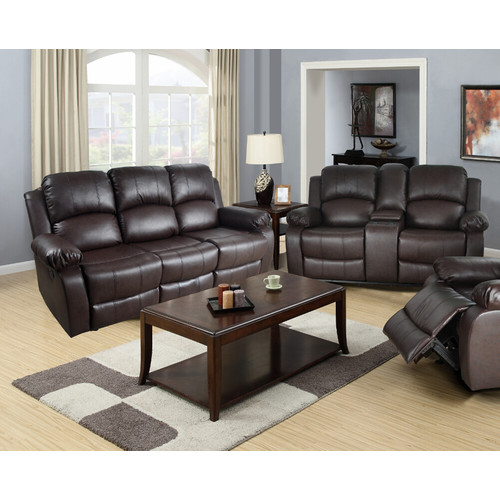 Beverly Fine Furniture Amado 2 Piece Leather Reclining Living Room Set