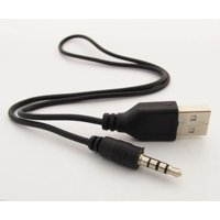 8 inch UL listed USB A male to 3.5mm 4 pole Converter cable