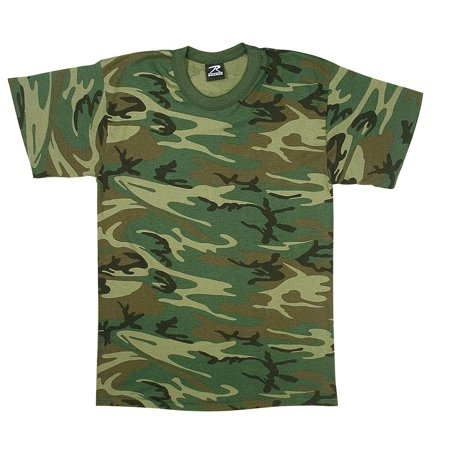 Kid's Heavyweight 6 oz. T-Shirt Woodland Camouflage Infant Woodland Camouflage T-shirt