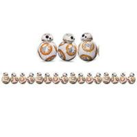 Eureka EU-845384-3 Star Wars Bb 8 Extra Wide Die-Cut Deco Trim - Pack of 3