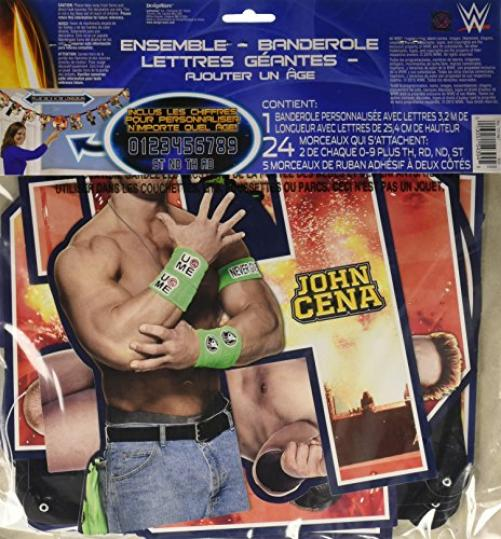 WWE Party Letter Banner [1 Retail Unit(s) Pack] - 121467