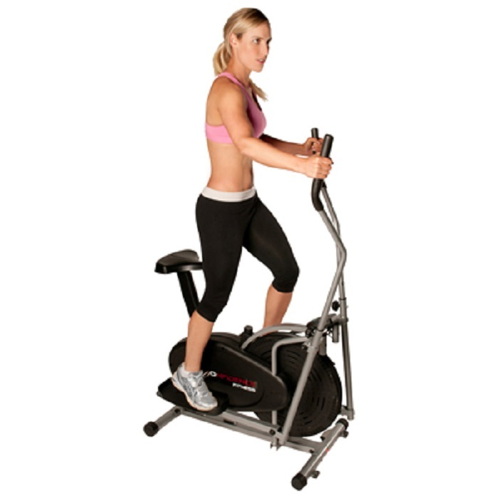 Confidence Fitness 2 in 1 Elliptical Cross Trainer and Exercise Bike