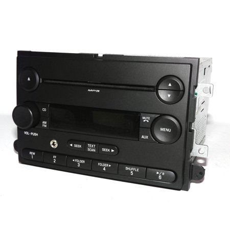 2007 Ford Fusion Car Radio - AM FM mp3 CD Player Aux iPod Input 7E5T-18C869-BB - Refurbished